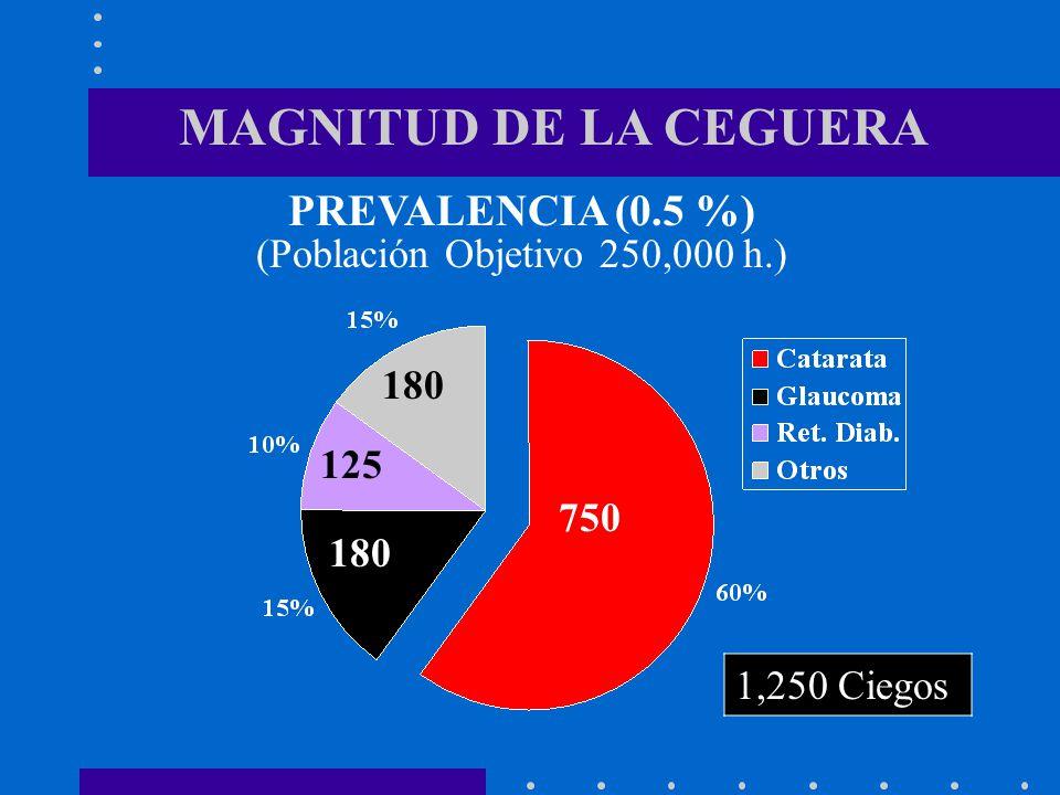 (Población Objetivo 250,000 h.)