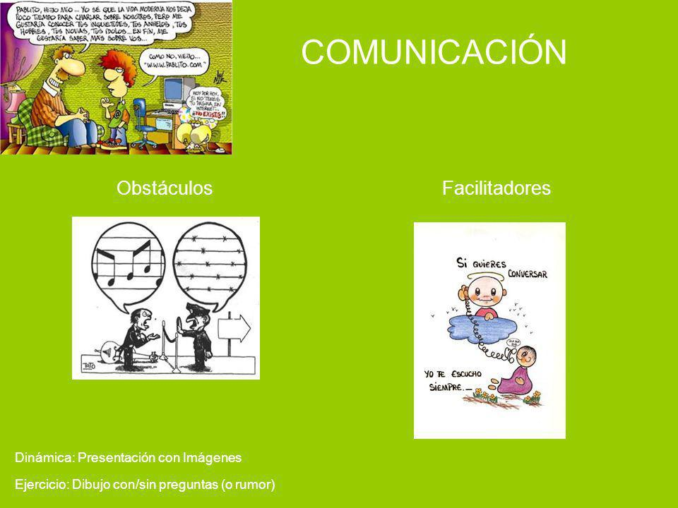 COMUNICACIÓN Facilitadores Obstáculos