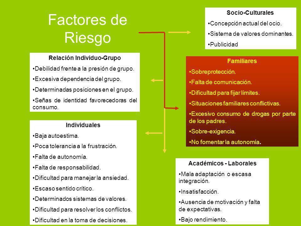 Relación Individuo-Grupo Académicos - Laborales