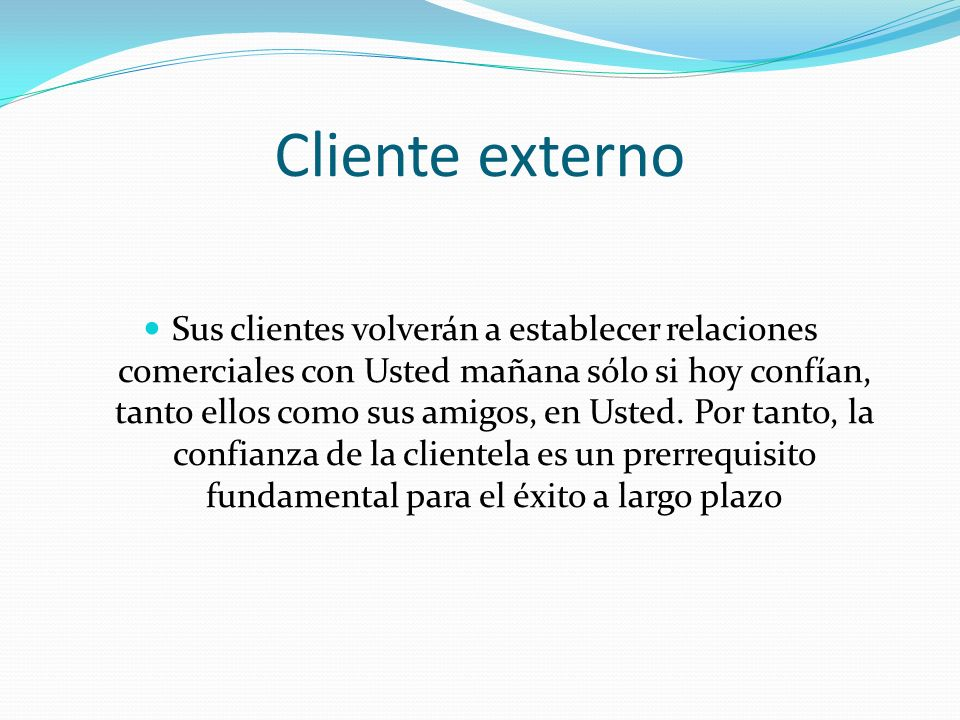 Cliente externo