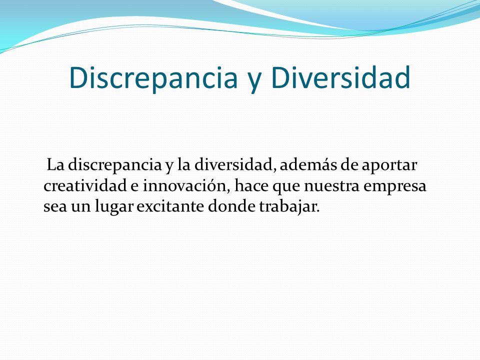 Discrepancia y Diversidad