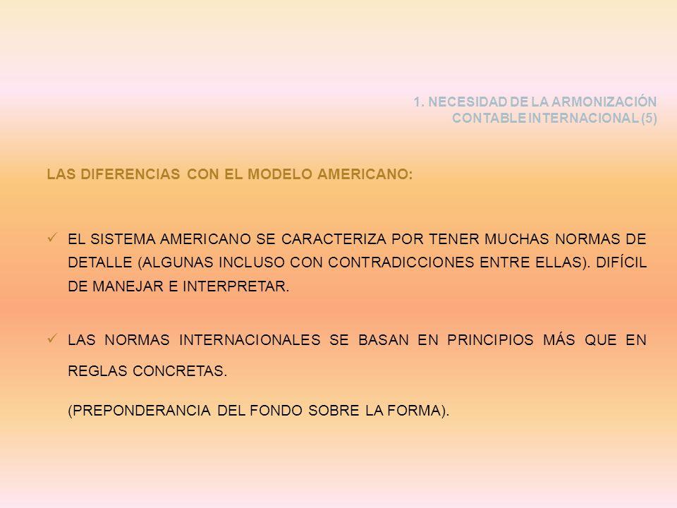 LAS DIFERENCIAS CON EL MODELO AMERICANO: