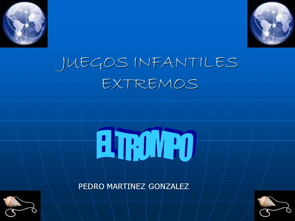 JUEGOS INFANTILES EXTREMOS