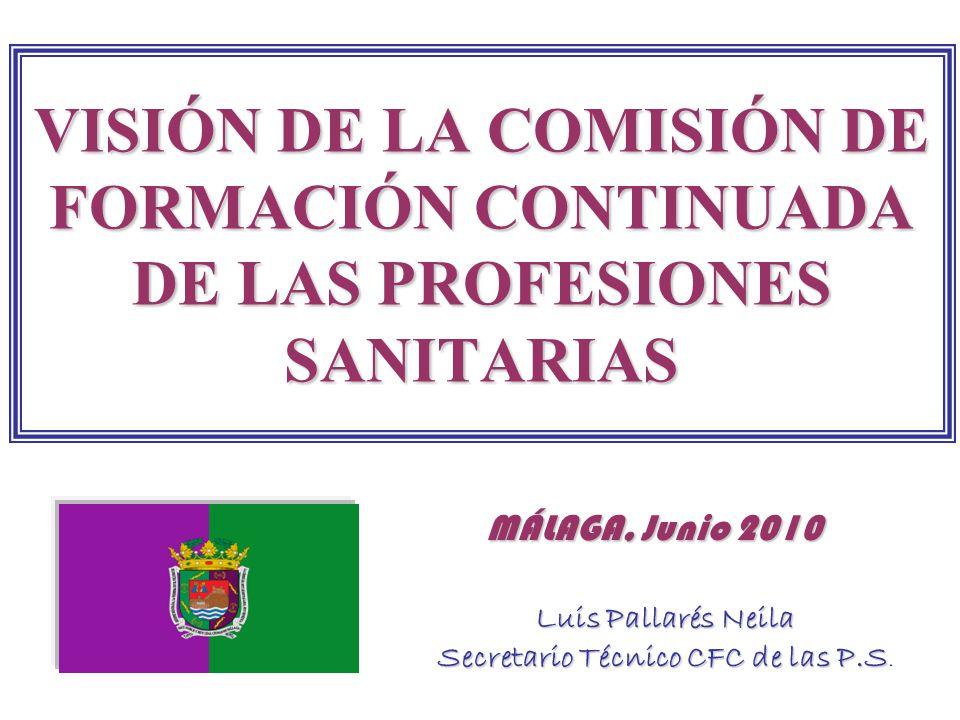 Luis Pallarés Neila Secretario Técnico CFC de las P.S.