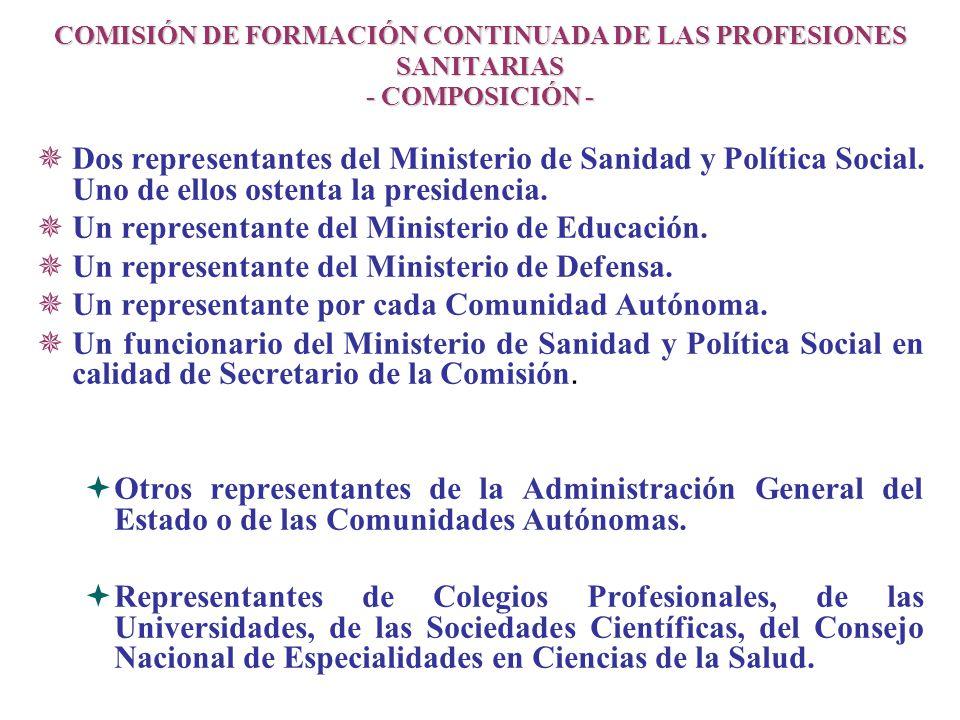 Un representante del Ministerio de Educación.