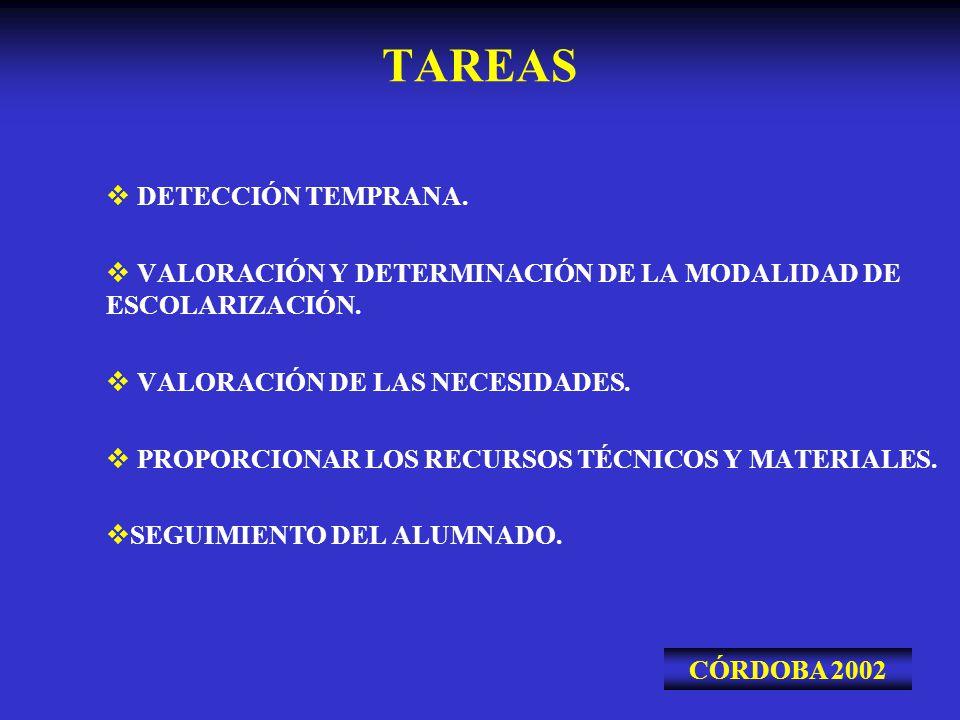 TAREAS DETECCIÓN TEMPRANA.
