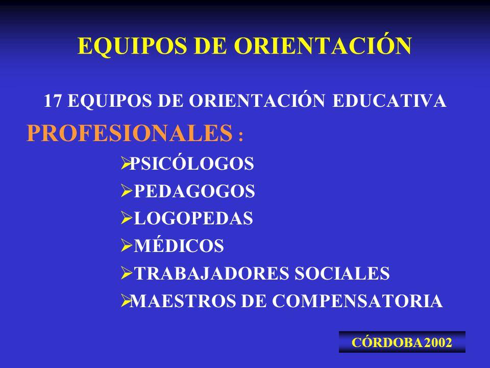 EQUIPOS DE ORIENTACIÓN