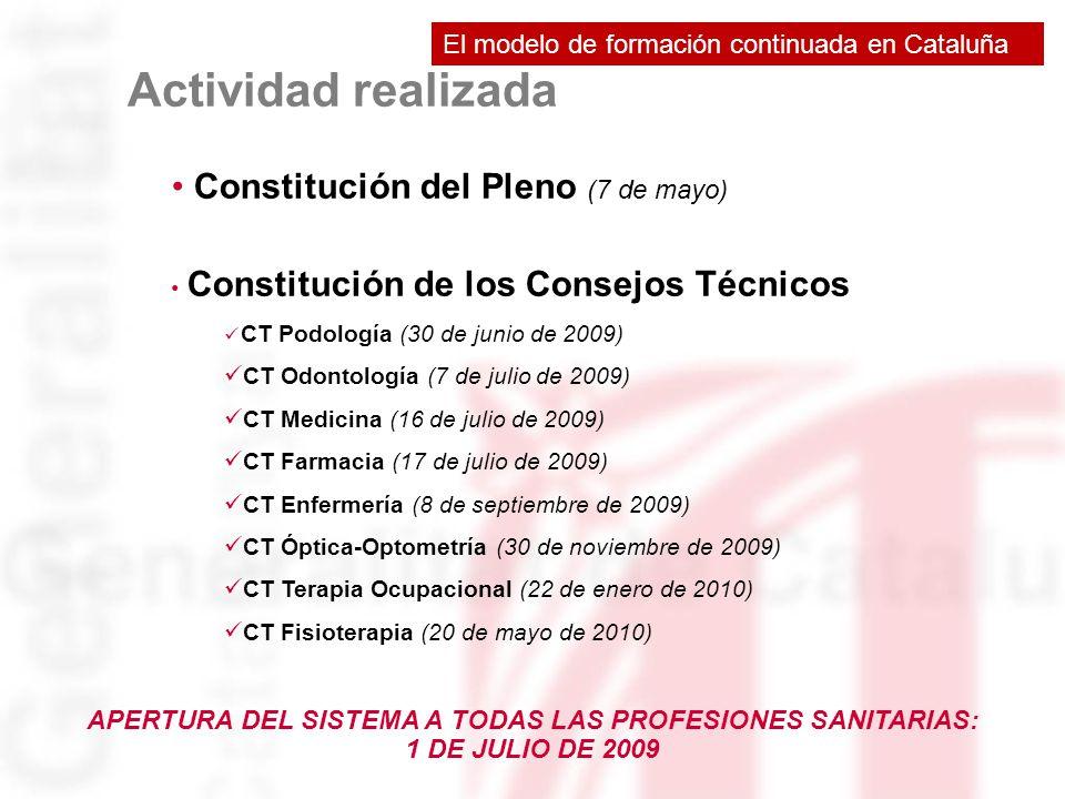 APERTURA DEL SISTEMA A TODAS LAS PROFESIONES SANITARIAS: