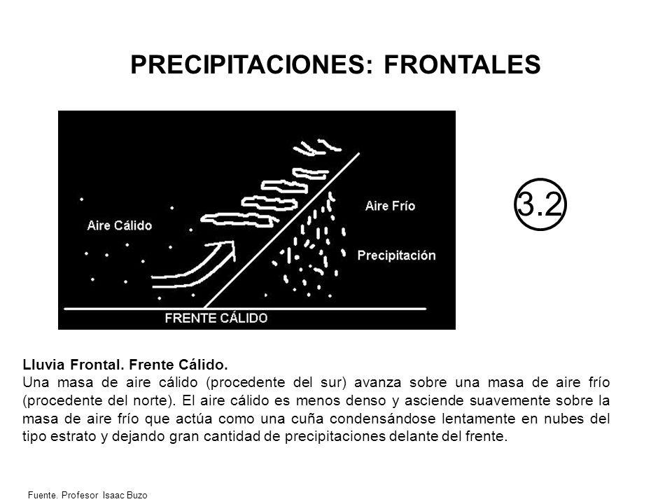 PRECIPITACIONES: FRONTALES