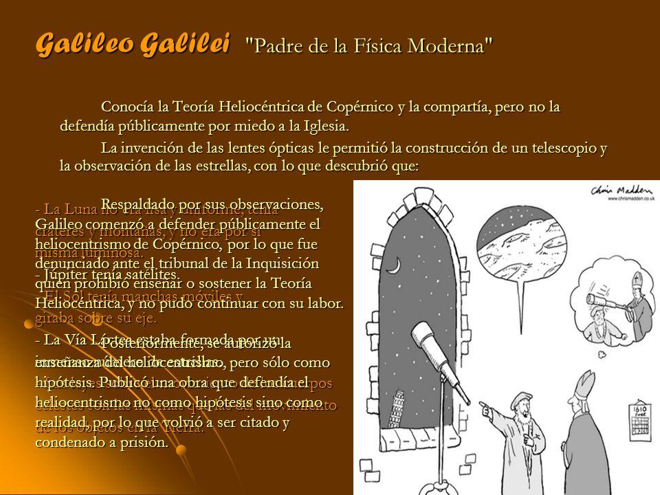 Galileo Galilei Padre de la Física Moderna