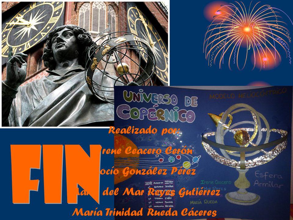Fin Realizado por: Irene Ceacero Cerón Rocío González Pérez