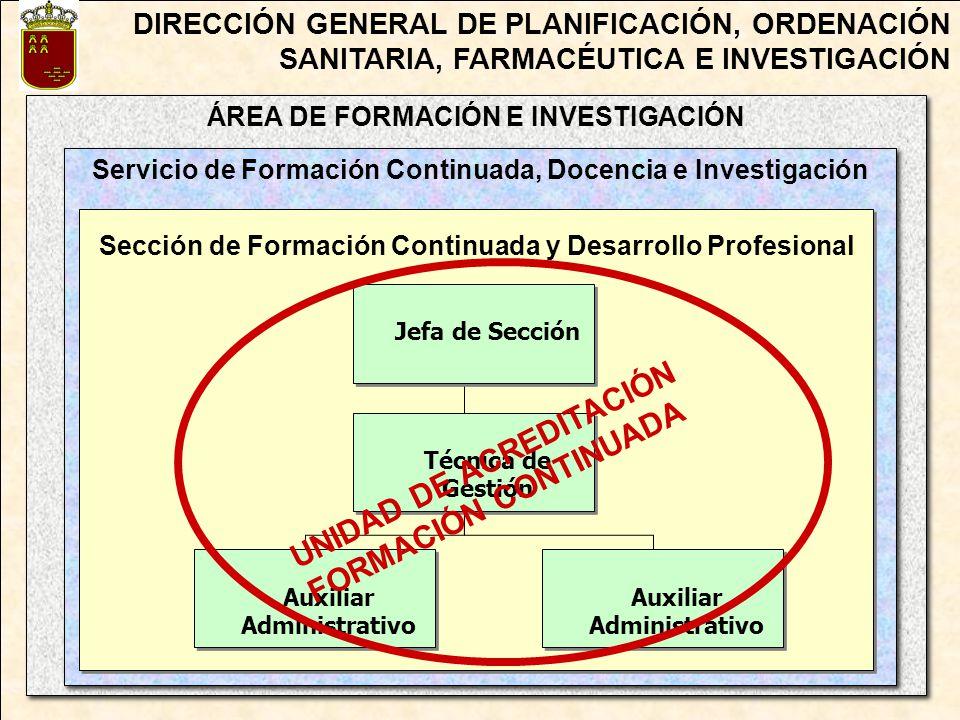 ÁREA DE FORMACIÓN E INVESTIGACIÓN