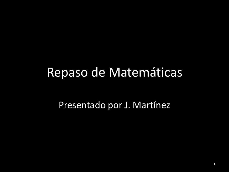Presentado por J. Martínez