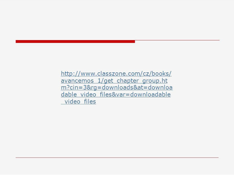 http://www. classzone. com/cz/books/avancemos_1/get_chapter_group. htm