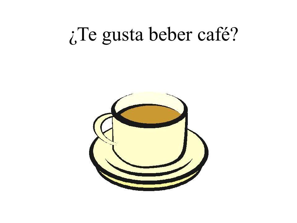 ¿Te gusta beber café