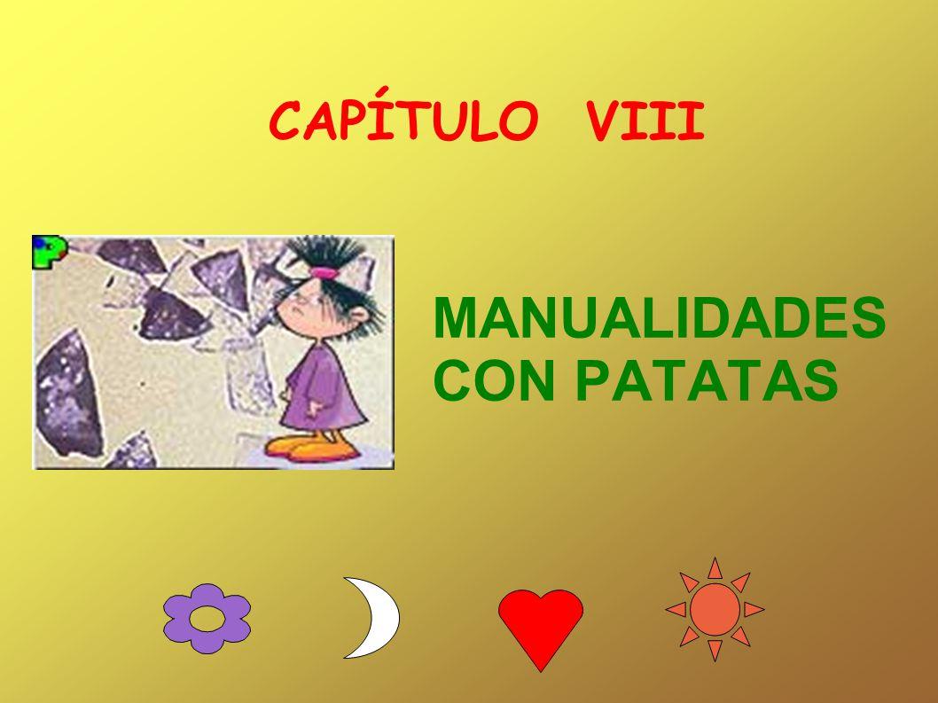 MANUALIDADES CON PATATAS