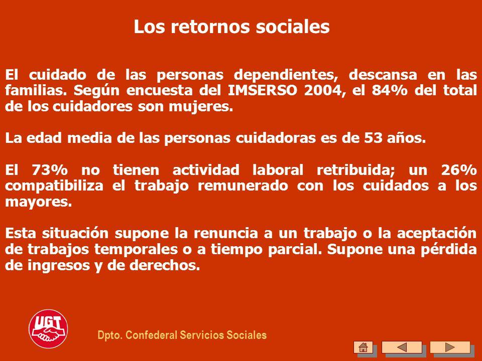 Los retornos sociales