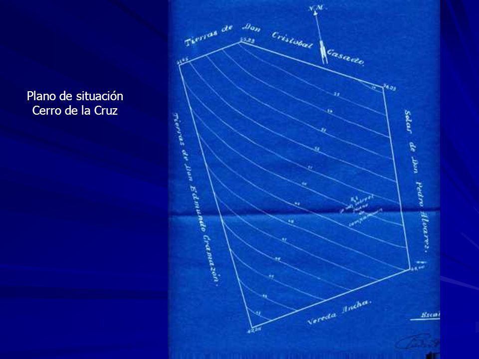 Plano de situación Cerro de la Cruz