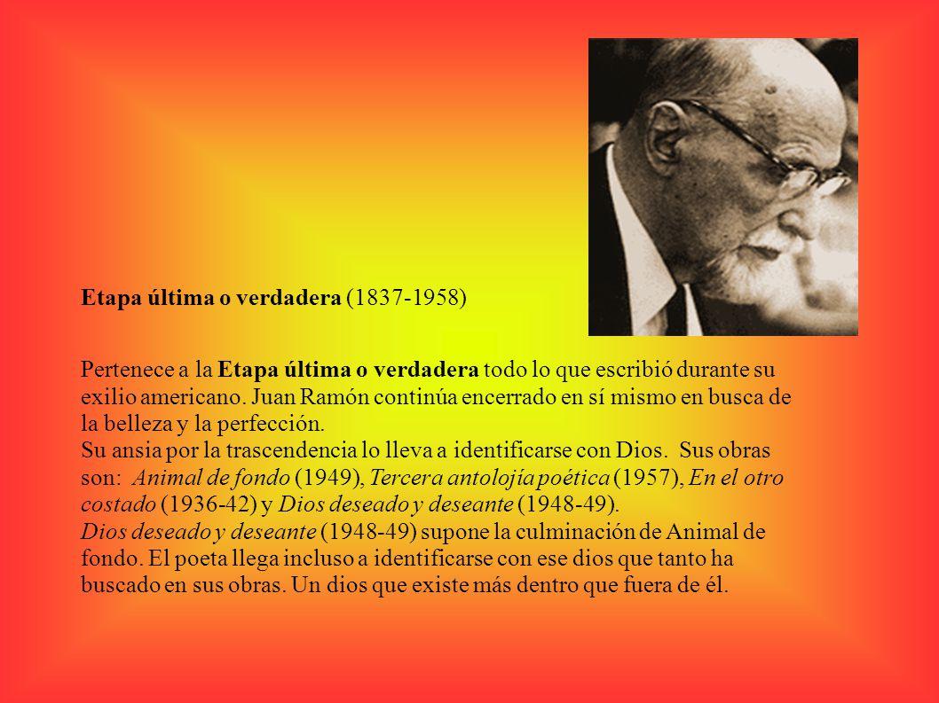 Etapa última o verdadera (1837-1958)