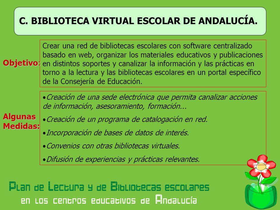 C. BIBLIOTECA VIRTUAL ESCOLAR DE ANDALUCÍA.