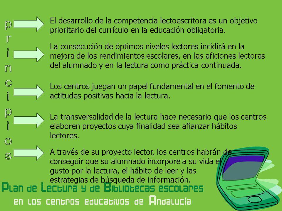 El desarrollo de la competencia lectoescritora es un objetivo prioritario del currículo en la educación obligatoria.