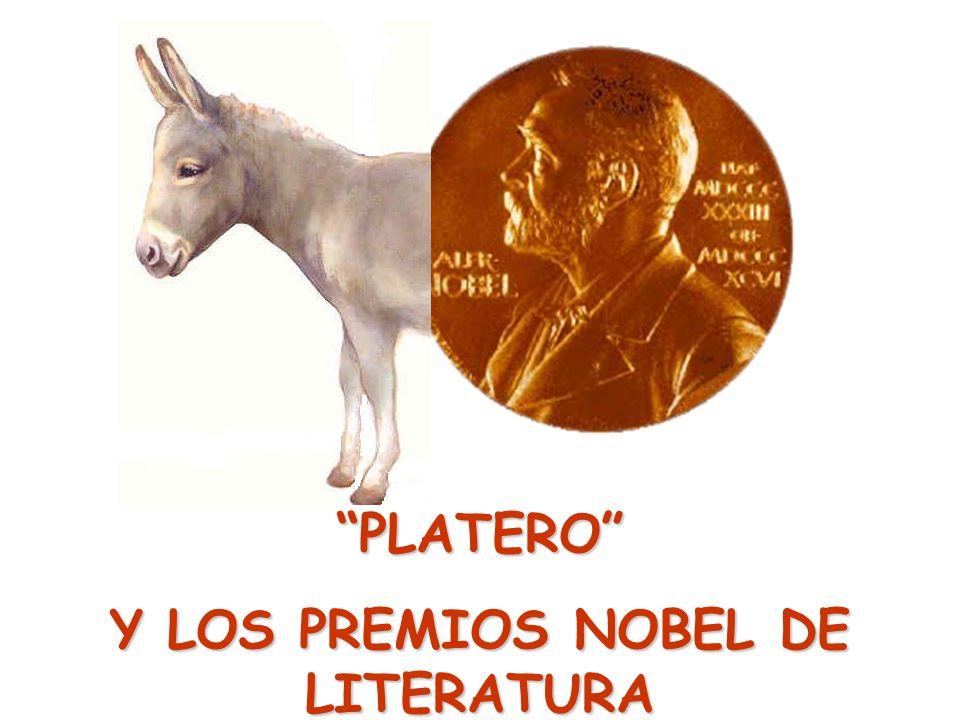 Y LOS PREMIOS NOBEL DE LITERATURA