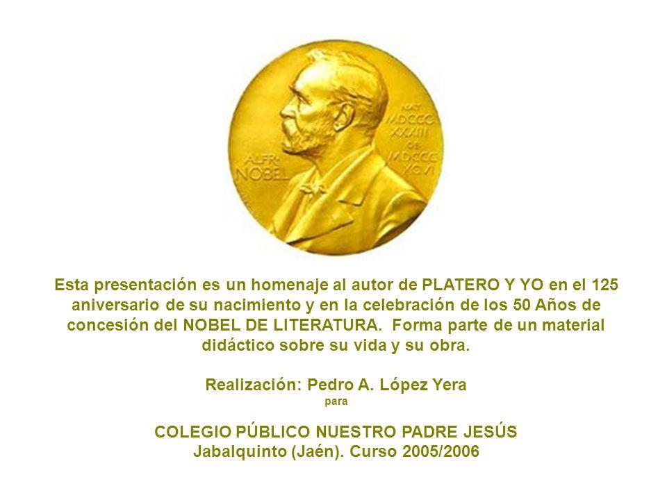 Realización: Pedro A. López Yera COLEGIO PÚBLICO NUESTRO PADRE JESÚS