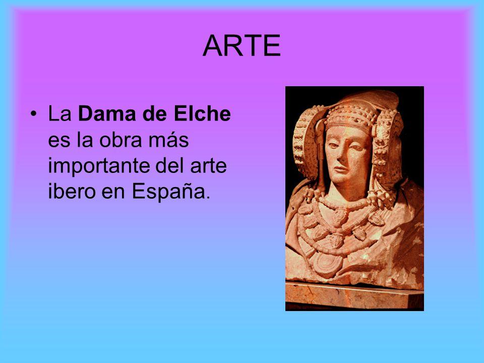 ARTE La Dama de Elche es la obra más importante del arte ibero en España.