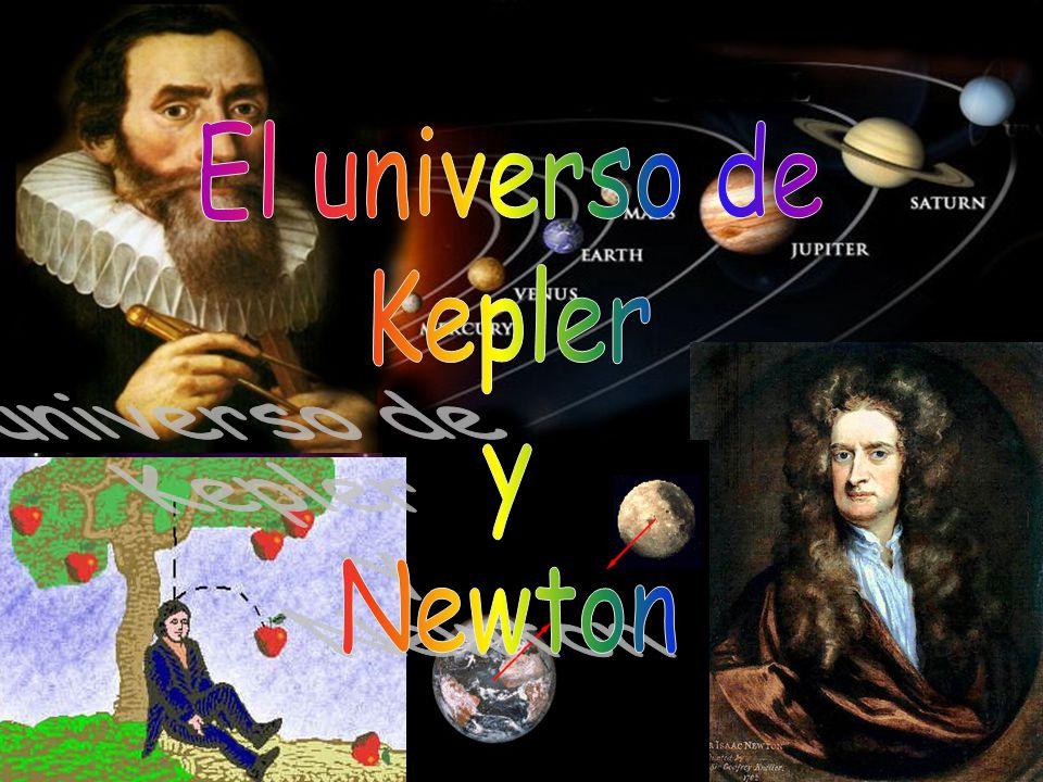 El universo de Kepler y Newton