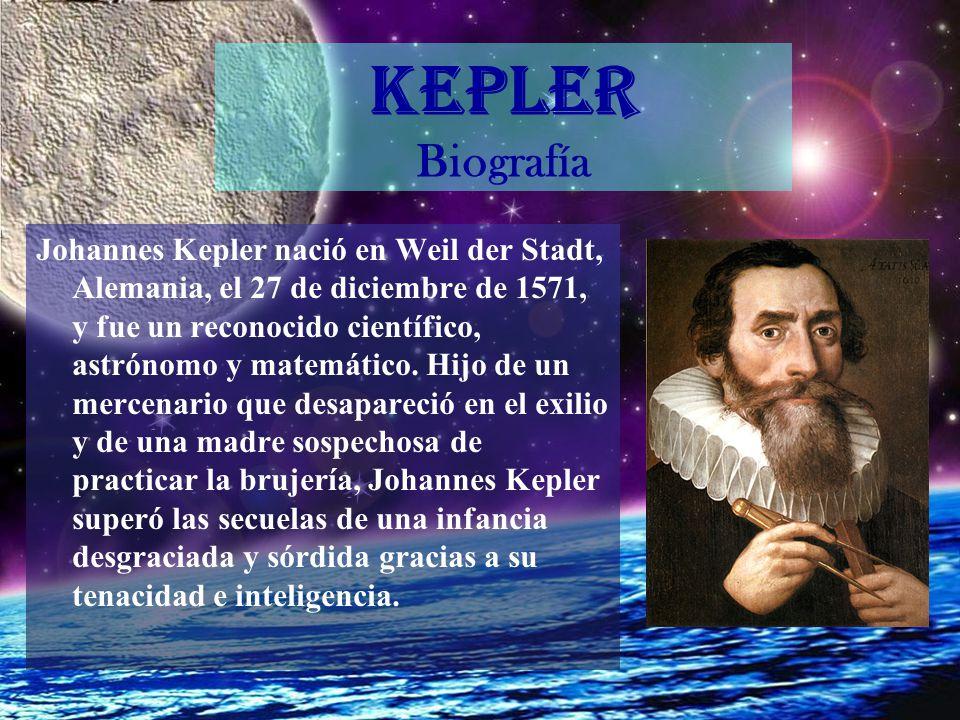 KEPLER Biografía