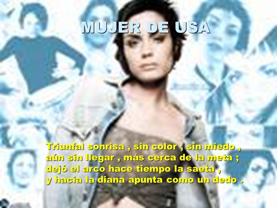 MUJER DE USA