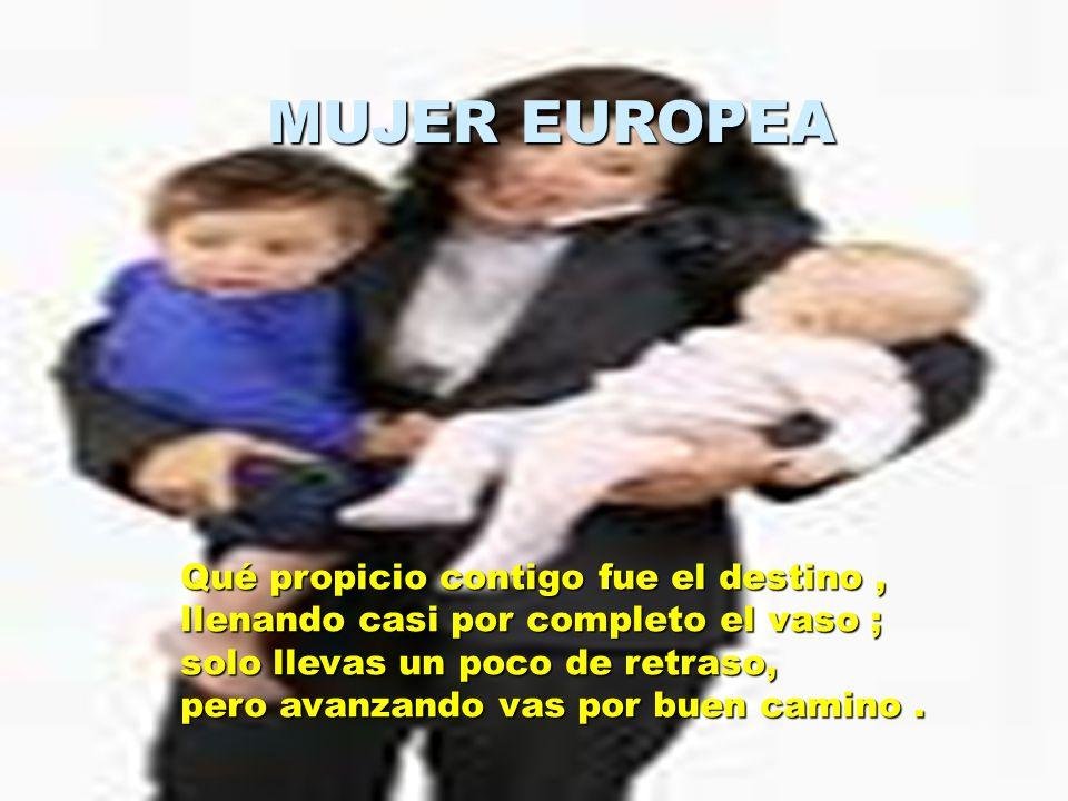 MUJER EUROPEA
