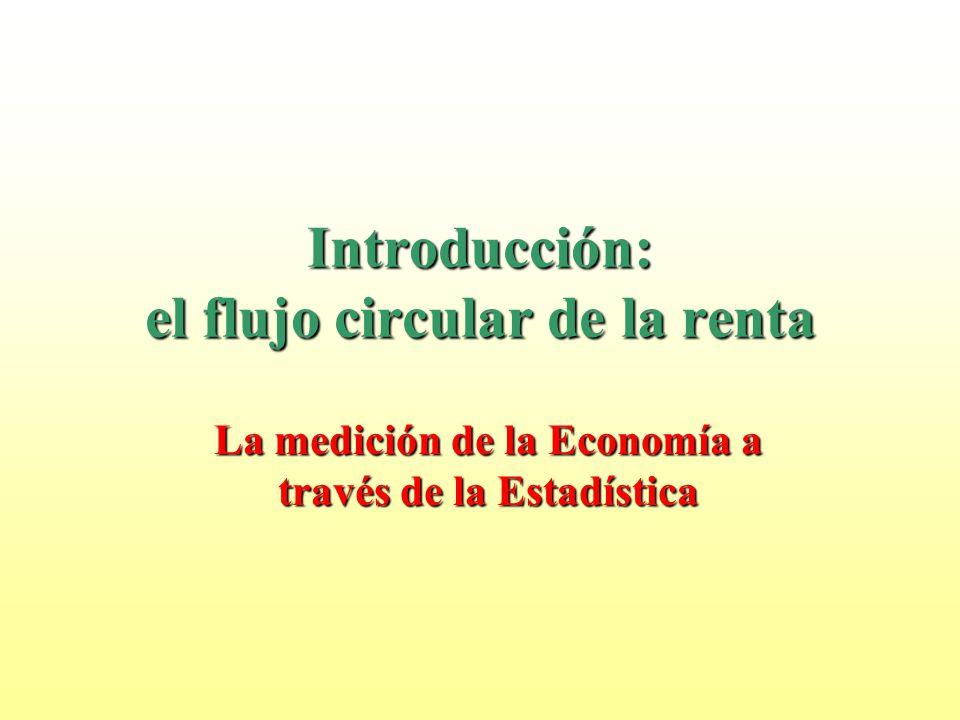 Introducción: el flujo circular de la renta