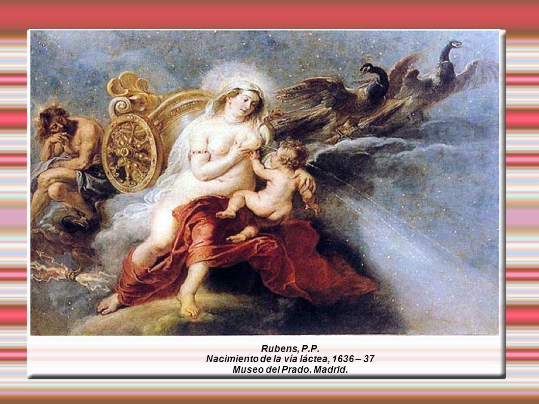 Nacimiento de la vía láctea, 1636 – 37