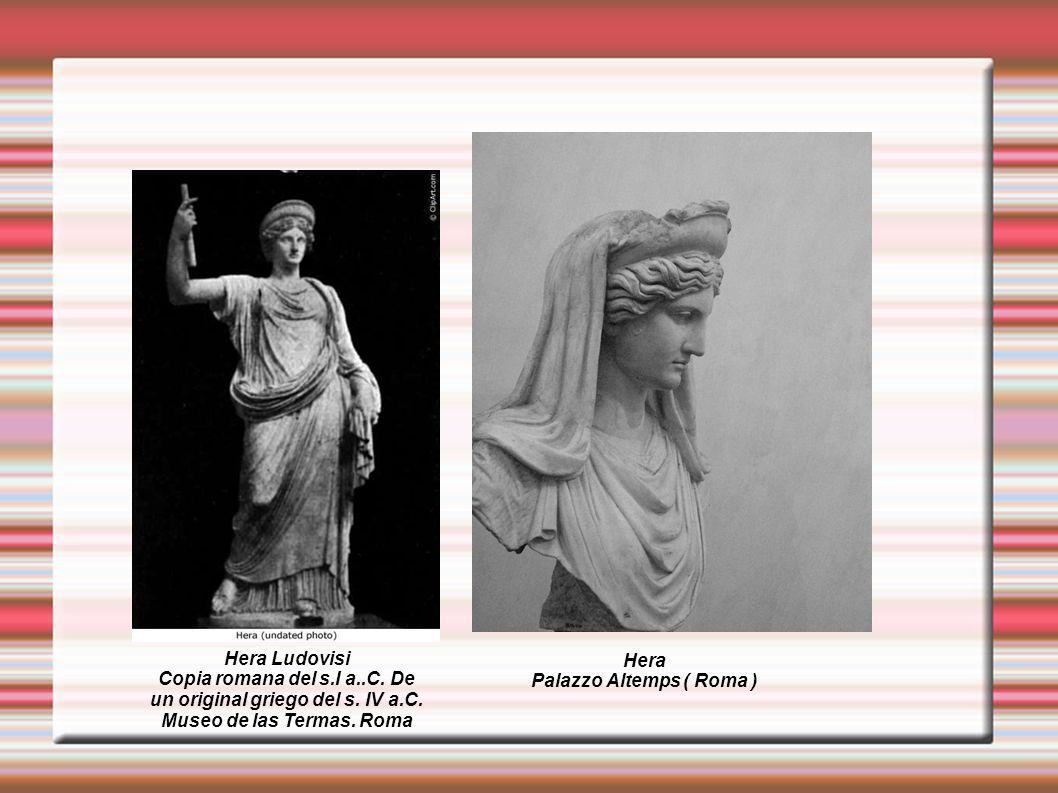 Copia romana del s.I a..C. De un original griego del s. IV a.C.