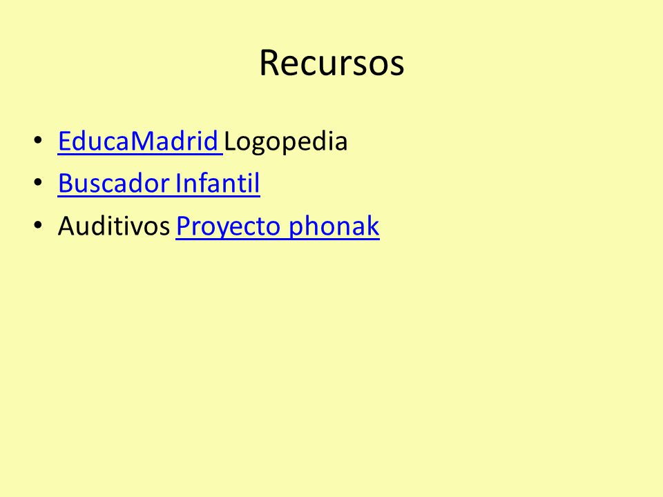 Recursos EducaMadrid Logopedia Buscador Infantil