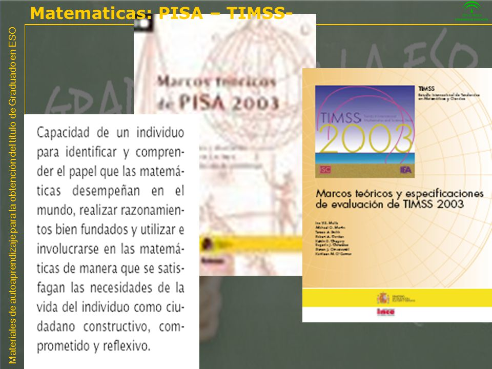 Matematicas: PISA – TIMSS-