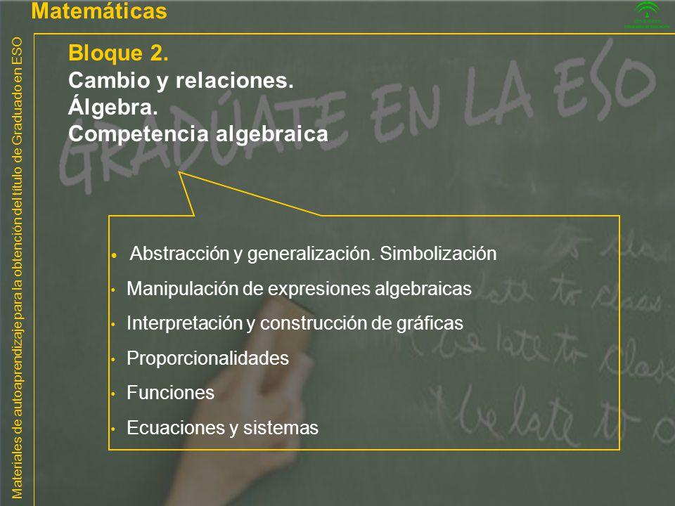Competencia algebraica