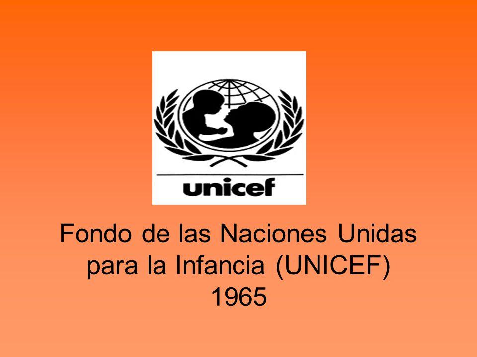Fondo de las Naciones Unidas para la Infancia (UNICEF) 1965
