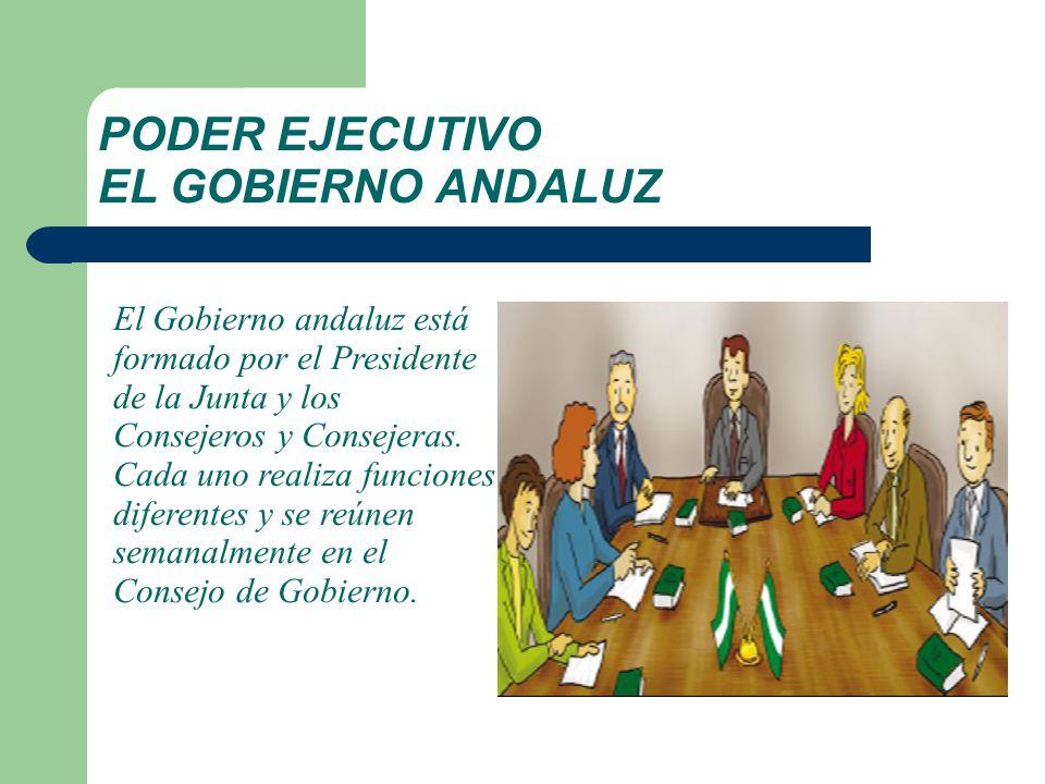 PODER EJECUTIVO EL GOBIERNO ANDALUZ