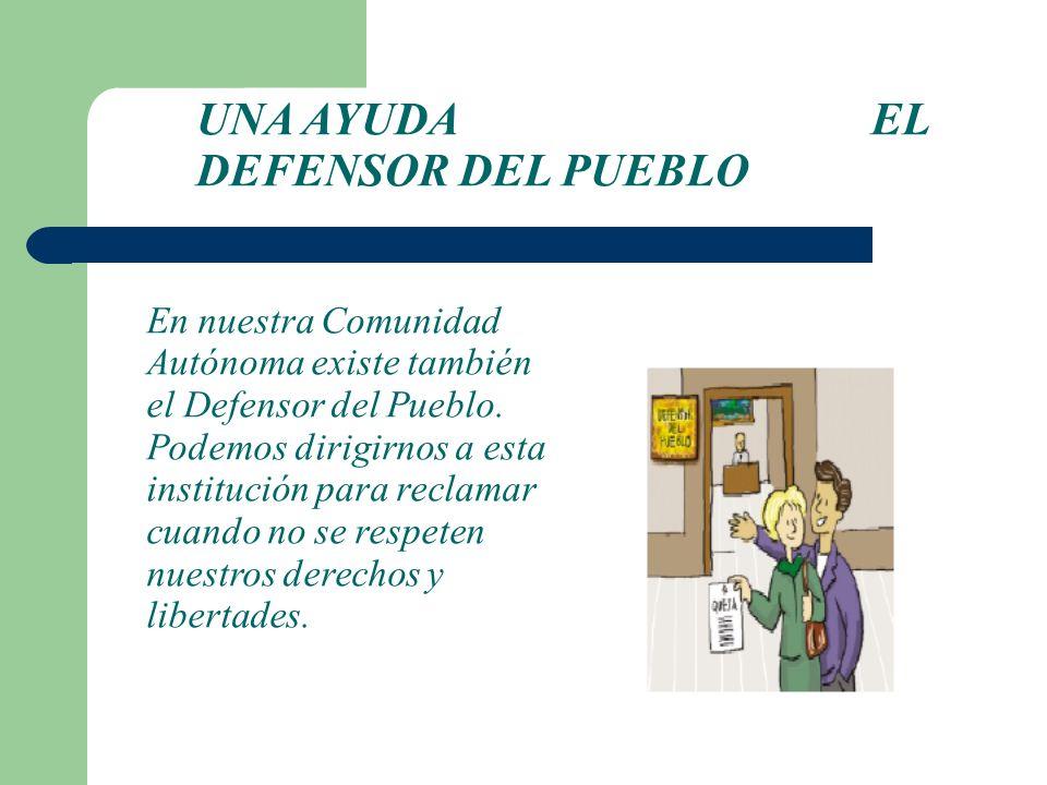 UNA AYUDA EL DEFENSOR DEL PUEBLO
