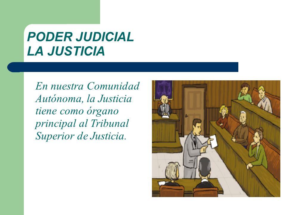 PODER JUDICIAL LA JUSTICIA