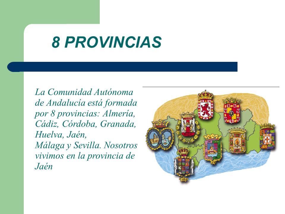 8 PROVINCIAS