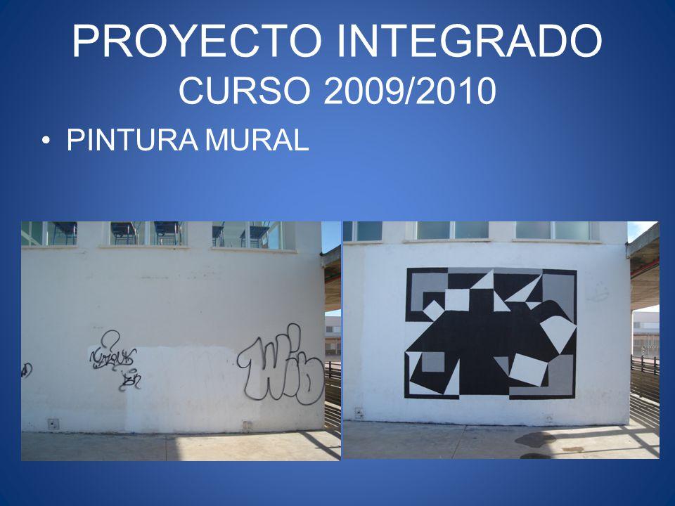 PROYECTO INTEGRADO CURSO 2009/2010