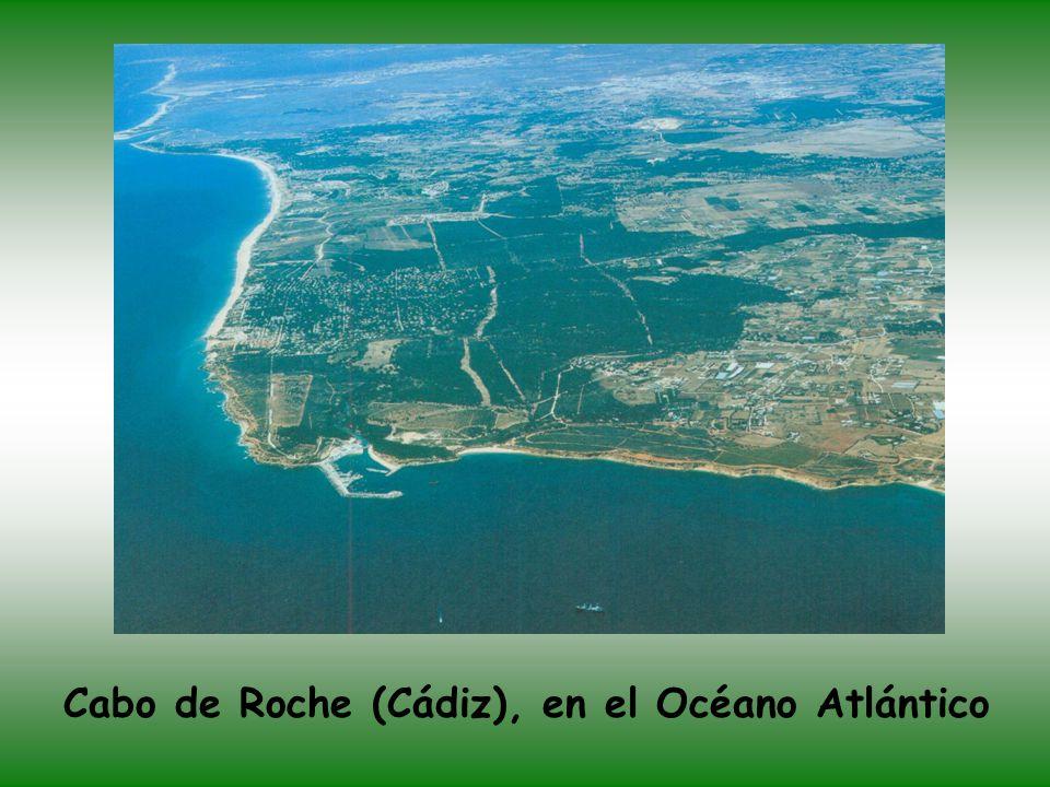 Cabo de Roche (Cádiz), en el Océano Atlántico