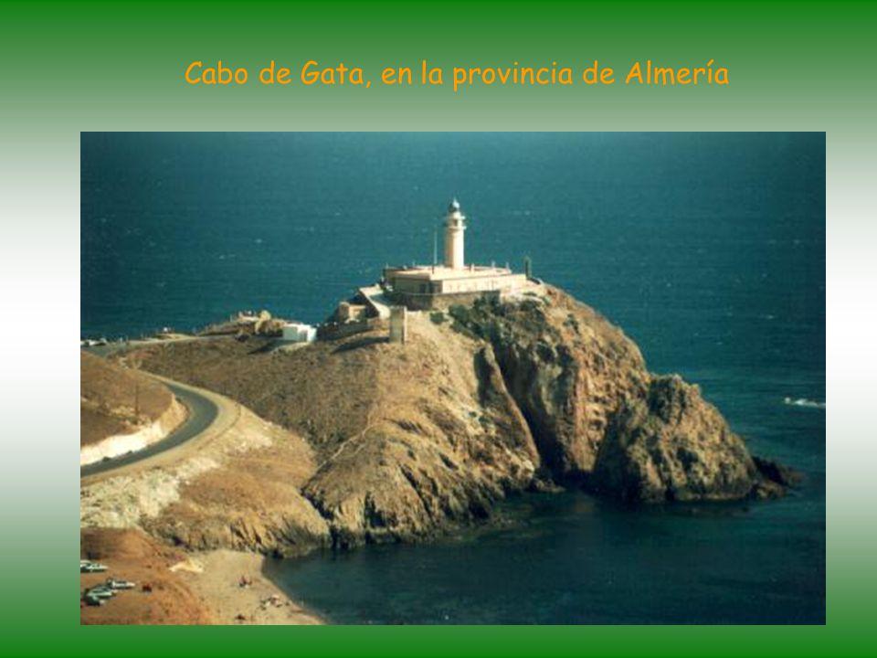 Cabo de Gata, en la provincia de Almería