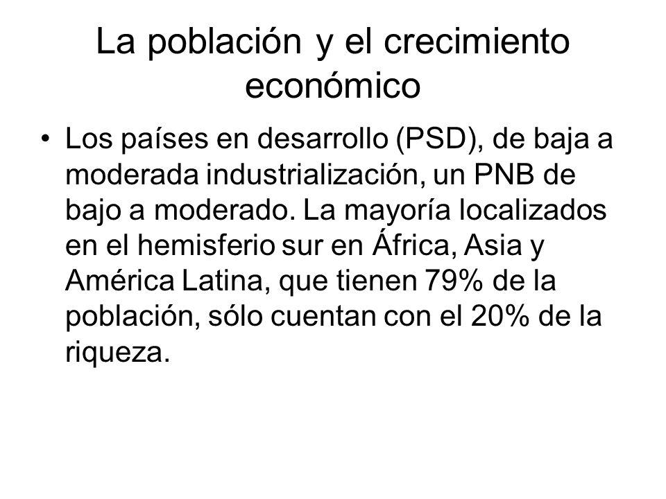 La población y el crecimiento económico