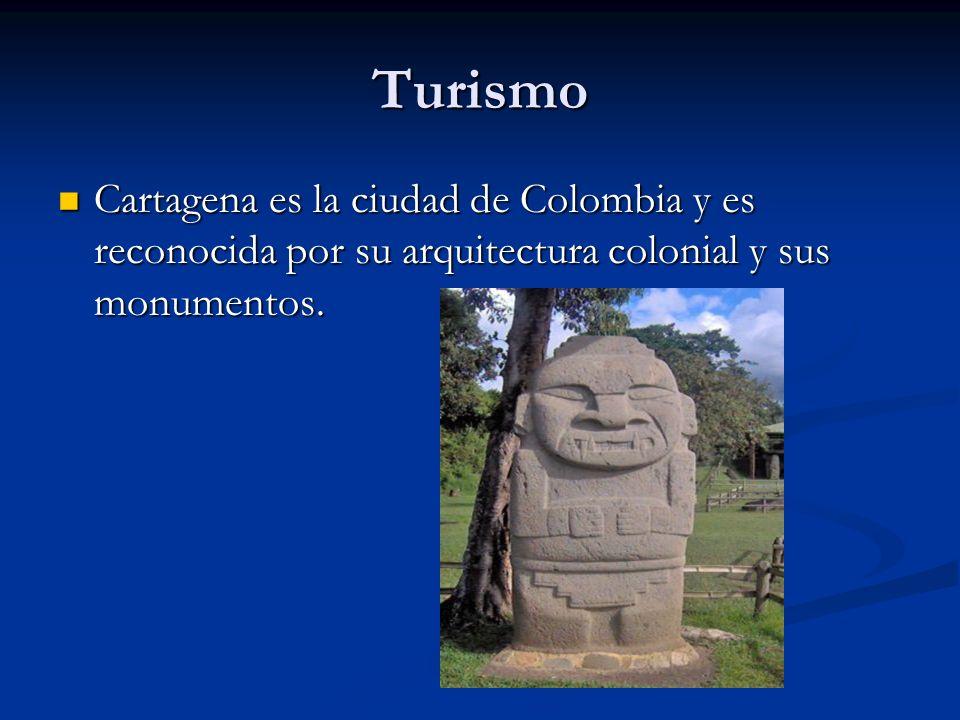 TurismoCartagena es la ciudad de Colombia y es reconocida por su arquitectura colonial y sus monumentos.