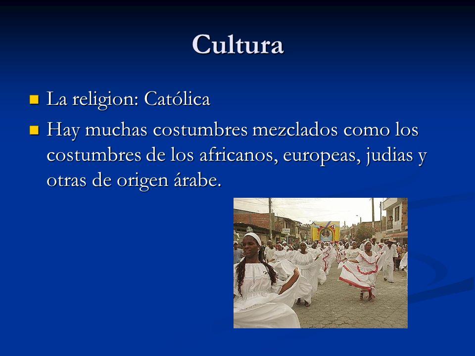 Cultura La religion: Católica