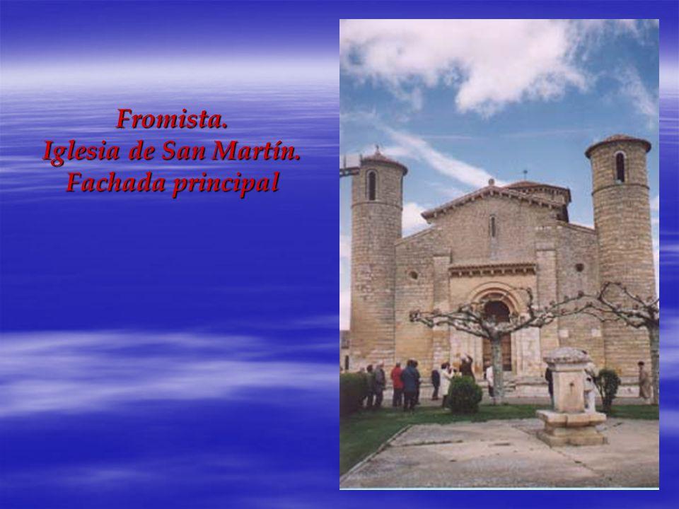 Fromista. Iglesia de San Martín. Fachada principal